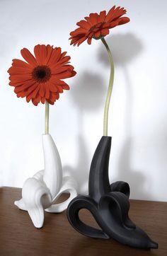 Banana flower vase.. hahahahaaa I love love love this !!