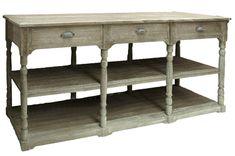 Console en bois de charme   KOTECAZ  #console #bois #meuble Console Table, Consoles, Entryway Tables, Decoration, Furniture, Home Decor, Dinner Room, Glamour, Atelier
