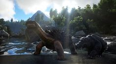 Download ARK Survival Evolved Dinosaur HD Picture 1920x1080