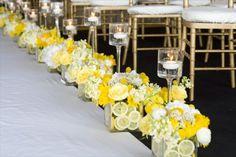 Wedding Ceremony Decor Citrus