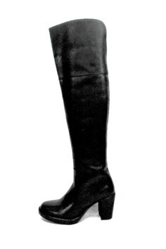 """Show stopper burnished leather knee high boot for the lady who wants to make a statement! Gorgeous and comfortable with goring up the back and a side zip inset. These boots were made for walking around the town in your skirts, leggings and skinnies.    Measures; 3"""" heel; 20"""" shaft; 17"""" circumference   Halo Tall Boot by Fly London. Shoes - Boots - Heeled Canada"""