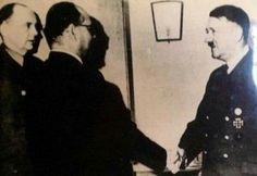 Subhash Chandra boss with Adolf Hitler