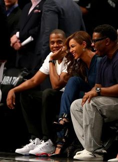 Beyonce & Jay Z at the Miami Heat Vs. Brooklyn Nets Game May 12th, 2014