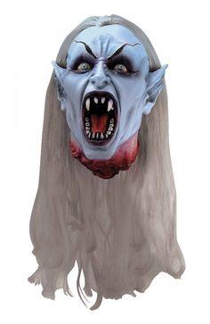 Creepy Scary Costume Gothic Head