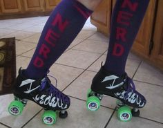 My skates - Riedell Vixens with Heartless Creepers