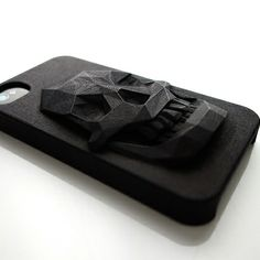 Fancy - 3D Printed Skull iPhone Case