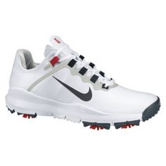 Nike TW 13 Golf Cleats Mens White - ONLY $179.99