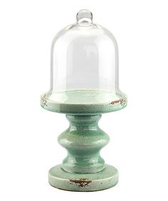 Loving this Ocean Pedestal & Cloche Décor on #zulily! #zulilyfinds