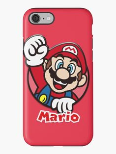 Super Mario Phone Case by MaxiLichtblau