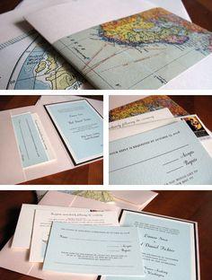 Travel Theme invite