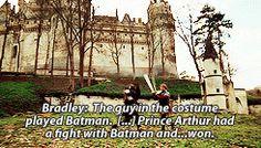 * Season 1 Merlin arthur Commentary Uther merlinedit gaius 1x02 valiant