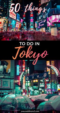 The best 50 things to do in Tokyo - Planning a trip to Japan and not quite sure what to do in the capital? Here is a list of the best 50 things to do in Tokyo. The Japanese capital is one of the most interesting places, featuring vibrant districts and fun establishments. You can't bored whilst exploring Tokyo, you find an array of things to do and see. #japan #tokyo #guide