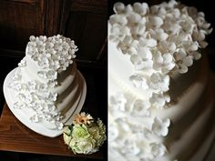 Cakes by Shelly to Match Your Wedding Dress - Vera Wang, Carolina Herrera, Reem Acra + Moniqui Lhuillier | OMG I'm Getting Married UK Wedding Blog | UK Wedding Design and Inspiration for the fabulous and fashion forward bride to be.