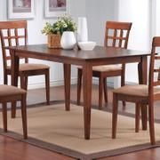 Mix & Match Rectangle Leg Dining Table in Walnut Finish - Coaster Co.