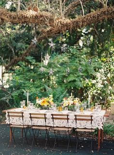 Elegant Summer Wedding Tablescape Ideas