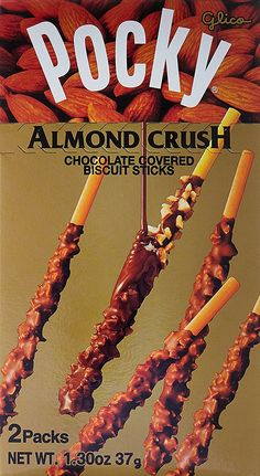 Pocky Chocolate Almond Crush Biscuit By Glico From Japan 12 Sticks: Amazon.ca: Grocery & Gourmet Food
