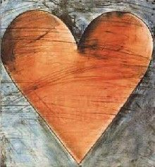 jim dine | Jim Dine's Hearts
