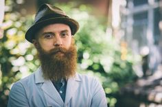 Dressing For Your Beard Color
