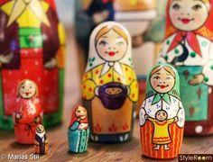 ryska dockor,babushka,Matrjosjka,матрёшка