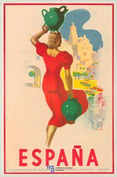 España. #Spain #vintage #tourism
