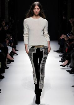 Balmain FW2012. The most perfect pair of printed pants ever.