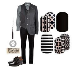 """""""Guess The Harry Potter Character"""" by kspantongroup on Polyvore featuring Maison Margiela, Mauro Grifoni, Loake, Sirius, men's fashion and menswear"""