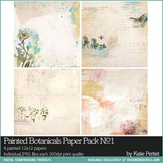 Painted Botanicals Paper Pack No. 01