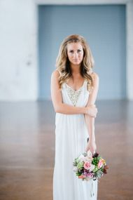 Industrial Wedding Inspiration from IYQ Photography | Style Me Pretty