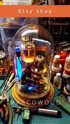 Steampunk lamp Benjamin/Industrial desk lamp/Steampunk art/Table lamp/Gifts/DIY lamp/Steampunk decor - Famous Last Words Casa Steampunk, Lampe Steampunk, Steampunk Gadgets, Steampunk Mechanic, Steampunk Guitar, Steampunk Crafts, Steampunk Costume, Steampunk Necklace, Gothic Steampunk