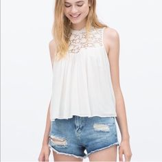 Zara blouse Brand new with tag Zara Tops