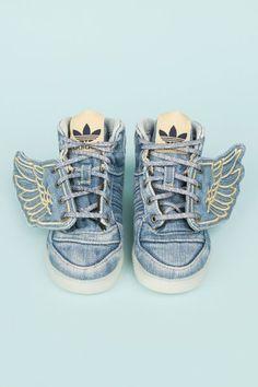 Every kid should have them the adidas Jeremy Scott mini me version!