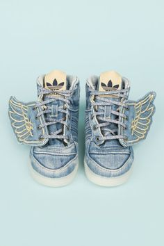Every kid should have them the adidas Jeremy Scott mini me version!