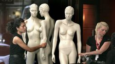 Female shop mannequins are 'medically unhealthy' and 'unrealistic', a new study in the Journal of Eating Disorders suggests.
