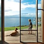 Clifftop house in Maui. Dwell Magazine. Photo by Cristóbal Palma