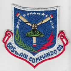 Wartime 605th Air Commando Squadron Patch / Insignia