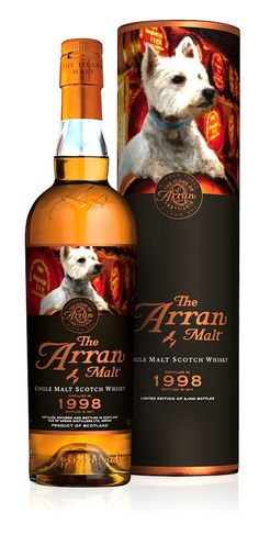 The Arran Malt ༺✿༺ 'Westie' whisky.
