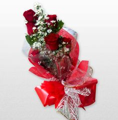 Red Romance 2 Roses are Red, violets are blue, I love Mom and she loves me too! Surprise her with Red roses filled with romance. Beautifully arranged that would surely make her smile and cry in gladness!