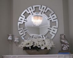 This is beautiful :) 3 Ideas for a Post-Holiday Mantel Makeover