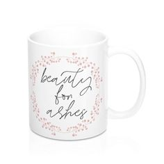 God isn't done with you yet.... . . ✨Isaiah 61:3:sparkles: . . Mug available now!! Go to www.etsy.com/shop/loveandgracecreative ———————————— ✨Have you entered our Giveaway contest yet?!?? There is still time!! Check out yesterday's post for entry details!!!✨ . . . #loveandgracecreative #womenintheword #proverbs31 #christianblogger #gracemakers #givemeJesus #faithinspired #faithandfashion #livethelittlethings #christianapparel #faithbasedapparel #christianshirt #christi Christian Clothing, Christian Shirts, Christian Women, Isaiah 61, 500 Followers, Give Me Jesus, 8th Of March, Sparkles, Appreciation