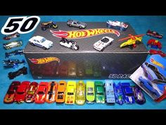 Opening: Hot Wheels 50 PACK - Surprise Car Box! 50 RANDOM CARDED CARS - YouTube