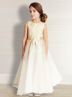 Tess.. cream lace bodice bridesmaid dress £60