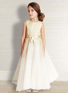 { Flowergirl Idea - BHS good value dresses }