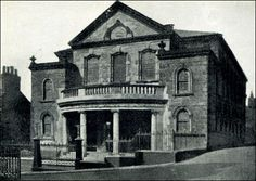 """Jubilee Chapel, the """"Mother Church"""" located on Wesley Street, in Tunstall, Staffordshire"""