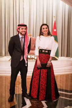 MyRoyals:  Jordan's Independence Day, May 25, 2015-Crown Prince Hussein and Queen Rania