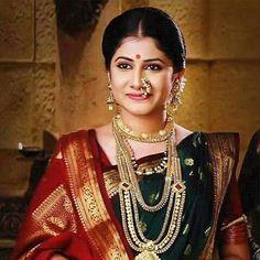 Marathi Saree, Marathi Bride, Marathi Nath, Marathi Wedding, Kashta Saree, Nauvari Saree, Saree Photoshoot, Indian Bridal Fashion, Bride Portrait