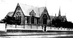 Black & white photo of the new wing of Petersham Superior Public School shortly after it was opened in February 1903 Historical Pictures, Historical Sites, History Teachers, South Wales, Tasmania, Public School, Colleges, Libraries, Museums
