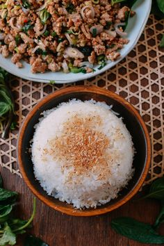 #Coconut #Rice recipe by thewoksoflife.com