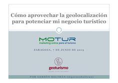 """Qué majo el amigo @GersonBeltran que nos ha """"usado"""" para su explicación de geolocalización en diferentes diapos 34, 35, 45, 48, 51, 57.  Nos llena de orgullo y satisfacción!!  Muchas gracias Gerson ;-)))"""