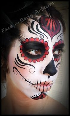 Shawna D. Make-up: Dia De Los Muertos Makeup