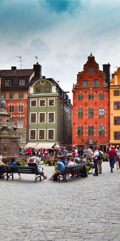 Stortorget- the Big Square in Stockholm